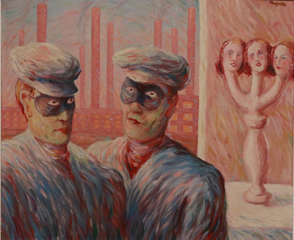 Rene Magritte İstihbarat, Kanvas Tablo, René Magritte, kanvas tablo, canvas print sales
