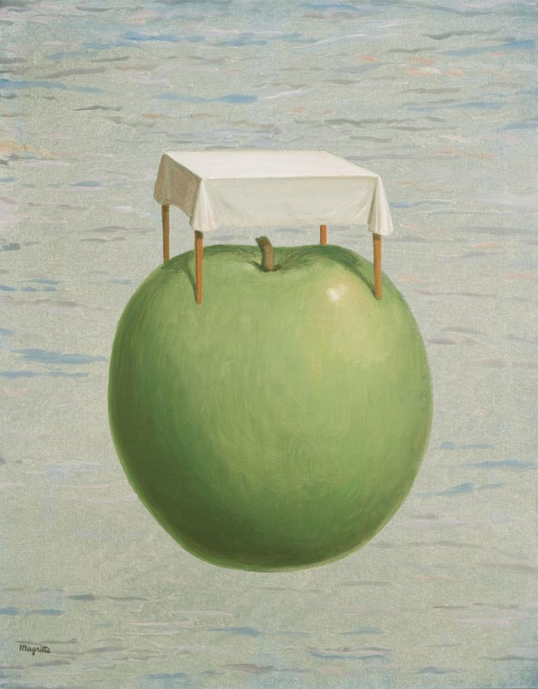 Rene Magritte Güzel Gerçekler, Kanvas Tablo, René Magritte, kanvas tablo, canvas print sales