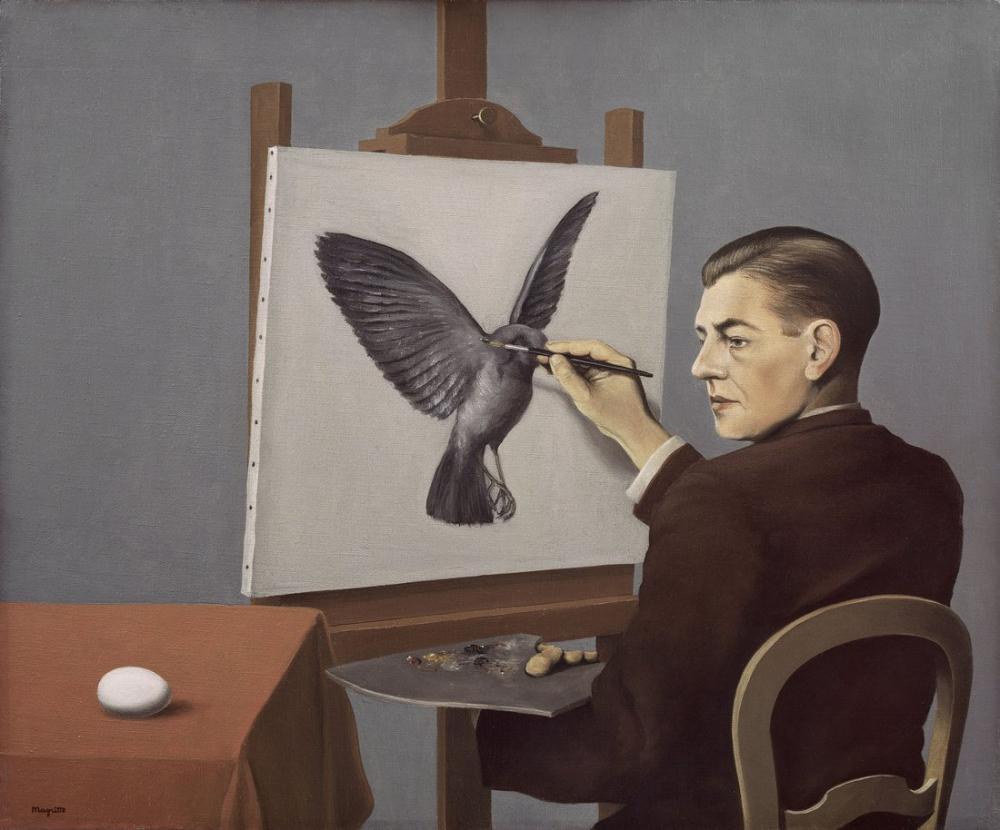 Rene Magritte Magritte Baskınlık, Kanvas Tablo, René Magritte, kanvas tablo, canvas print sales