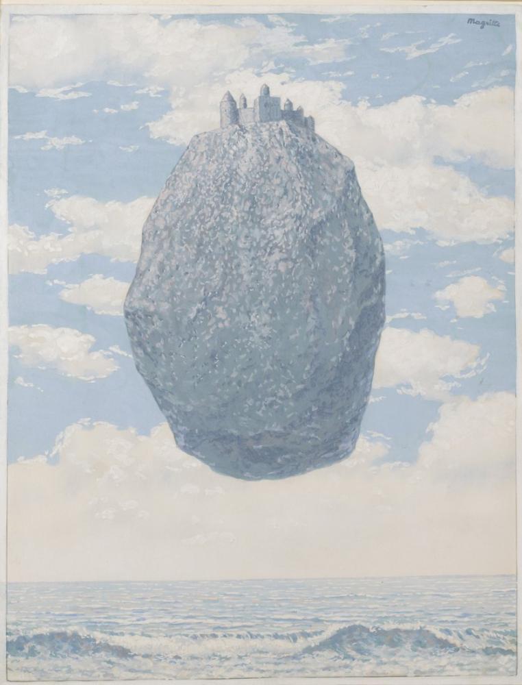 Rene Magritte Pyes Kalesi, Kanvas Tablo, René Magritte, kanvas tablo, canvas print sales
