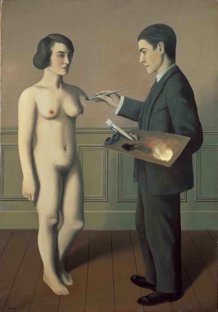 Rene Magritte İmkansız Teşebbüs, Kanvas Tablo, René Magritte, kanvas tablo, canvas print sales