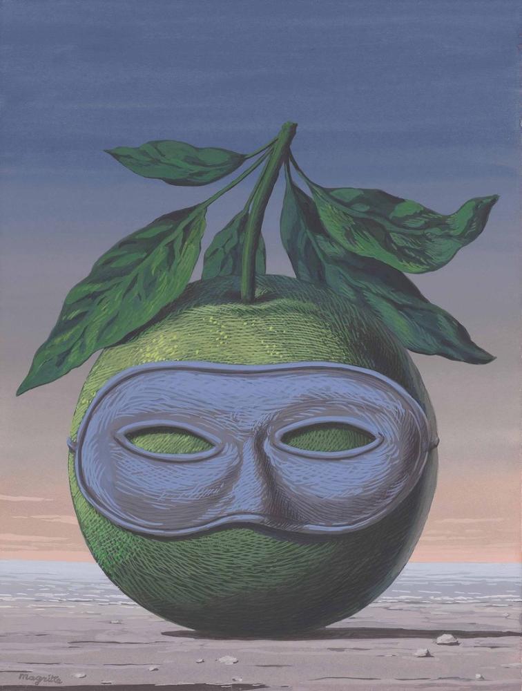 Rene Magritte Hatıralara Yolculuk, Kanvas Tablo, René Magritte, kanvas tablo, canvas print sales