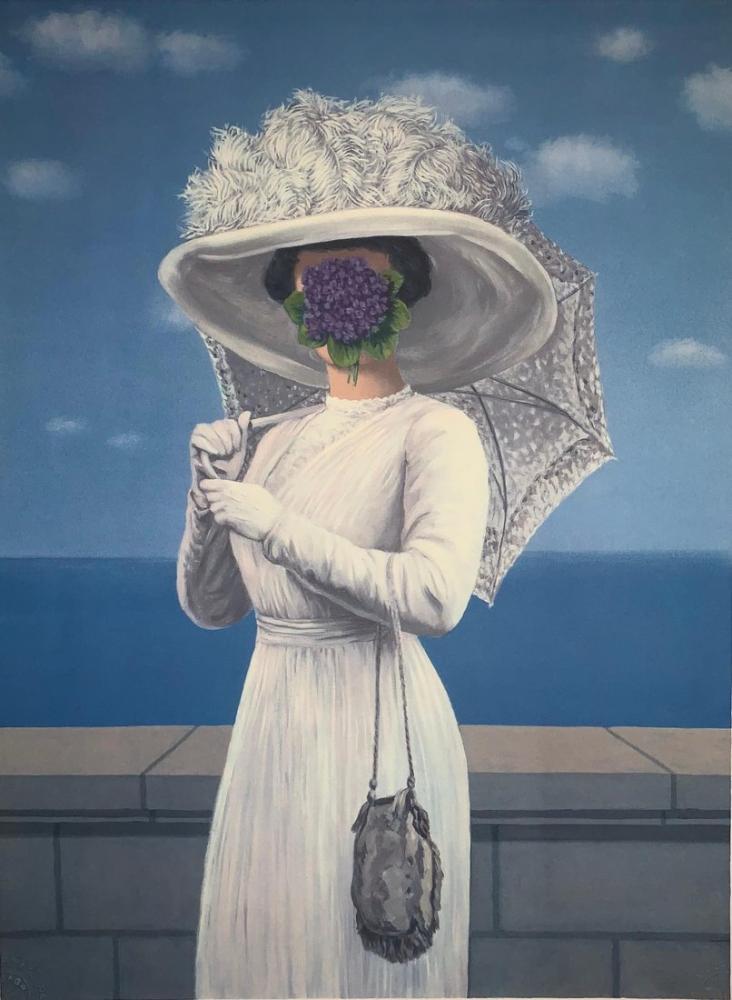 Rene Magritte Büyük Savaş, Kanvas Tablo, René Magritte, kanvas tablo, canvas print sales