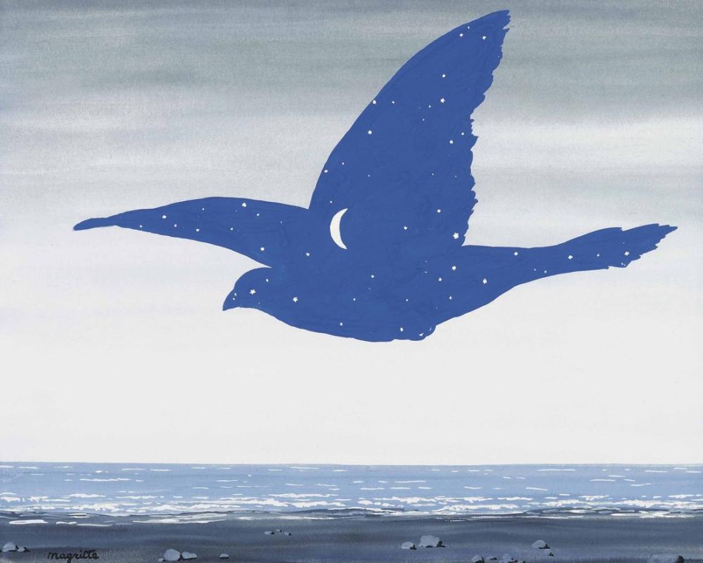 Rene Magritte Öpücük, Kanvas Tablo, René Magritte, kanvas tablo, canvas print sales