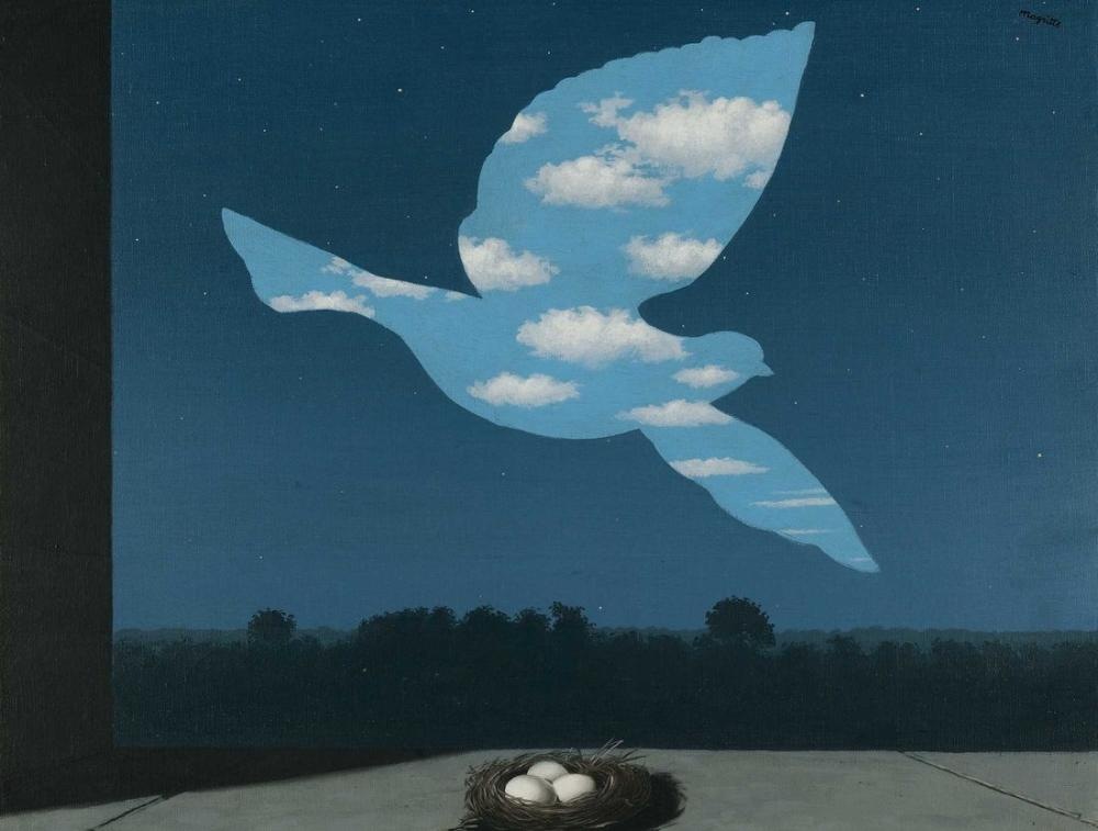 Rene Magritte Museo Brüksel, Kanvas Tablo, René Magritte, kanvas tablo, canvas print sales