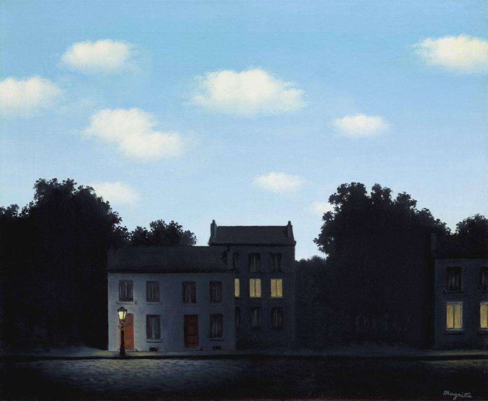 Rene Magritte Işıkların Efendisi, Kanvas Tablo, René Magritte, kanvas tablo, canvas print sales