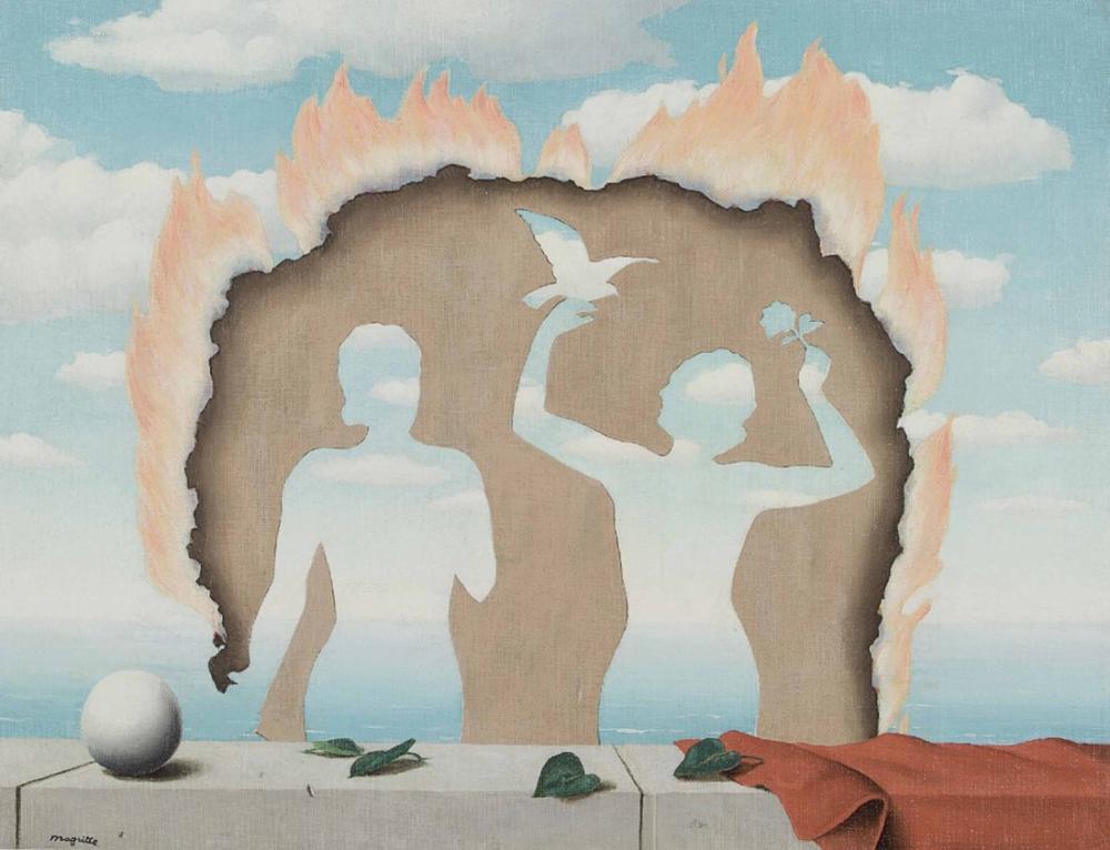 Rene Magritte Lisle Adam, Kanvas Tablo, René Magritte, kanvas tablo, canvas print sales