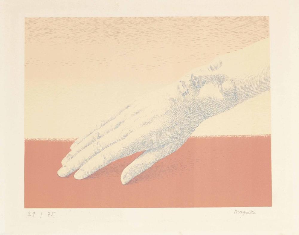 Rene Magritte Ayrılmaz Takı, Kanvas Tablo, René Magritte, kanvas tablo, canvas print sales