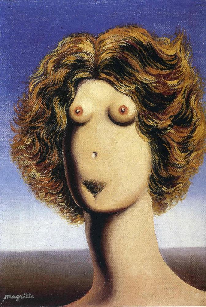 Rene Magritte Tecavüz, Kanvas Tablo, René Magritte, kanvas tablo, canvas print sales