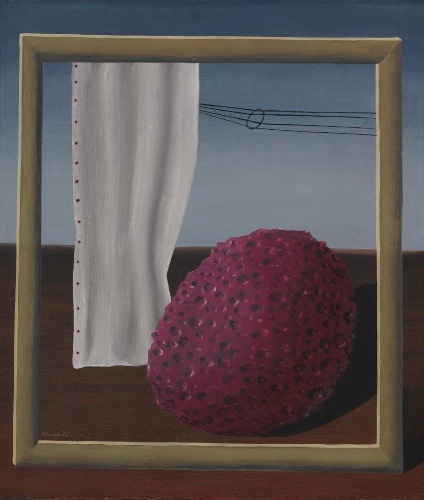 Rene Magritte Dünyaya Mesaj, Kanvas Tablo, René Magritte, kanvas tablo, canvas print sales