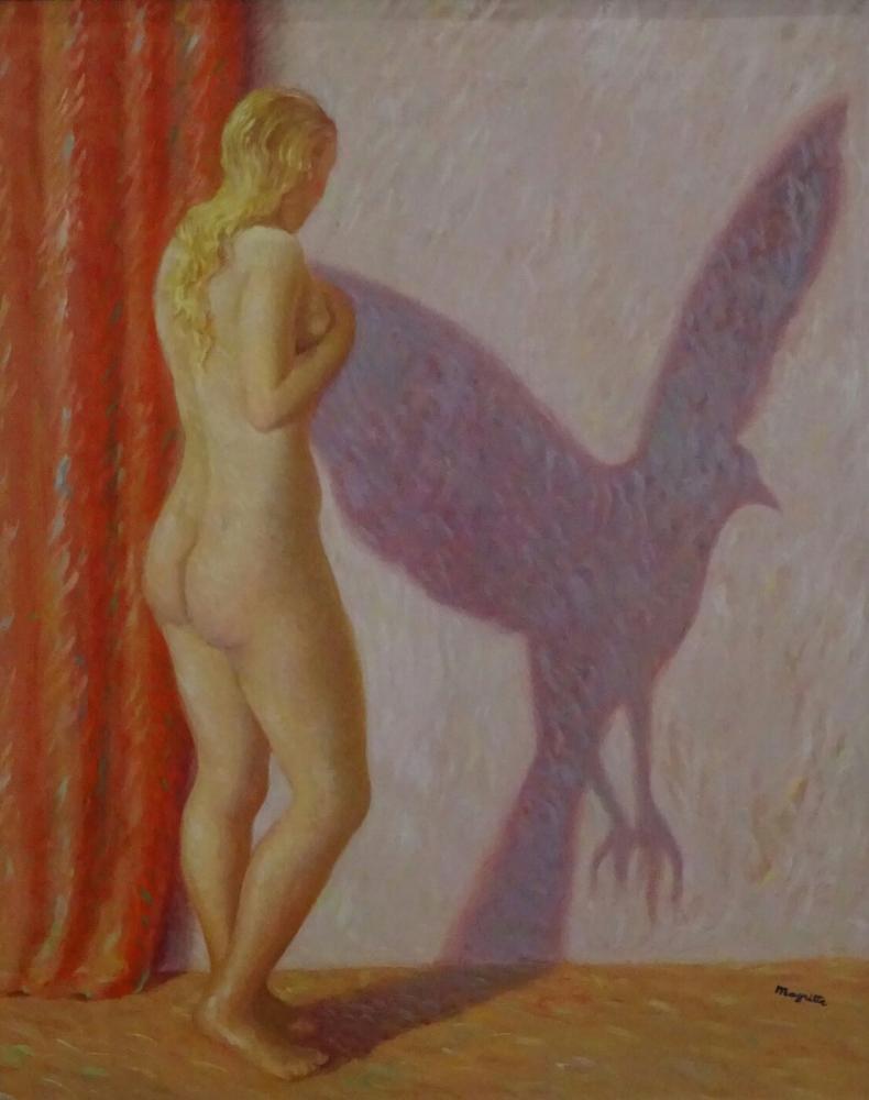 Rene Magritte Kadının Gölgesi, Kanvas Tablo, René Magritte, kanvas tablo, canvas print sales