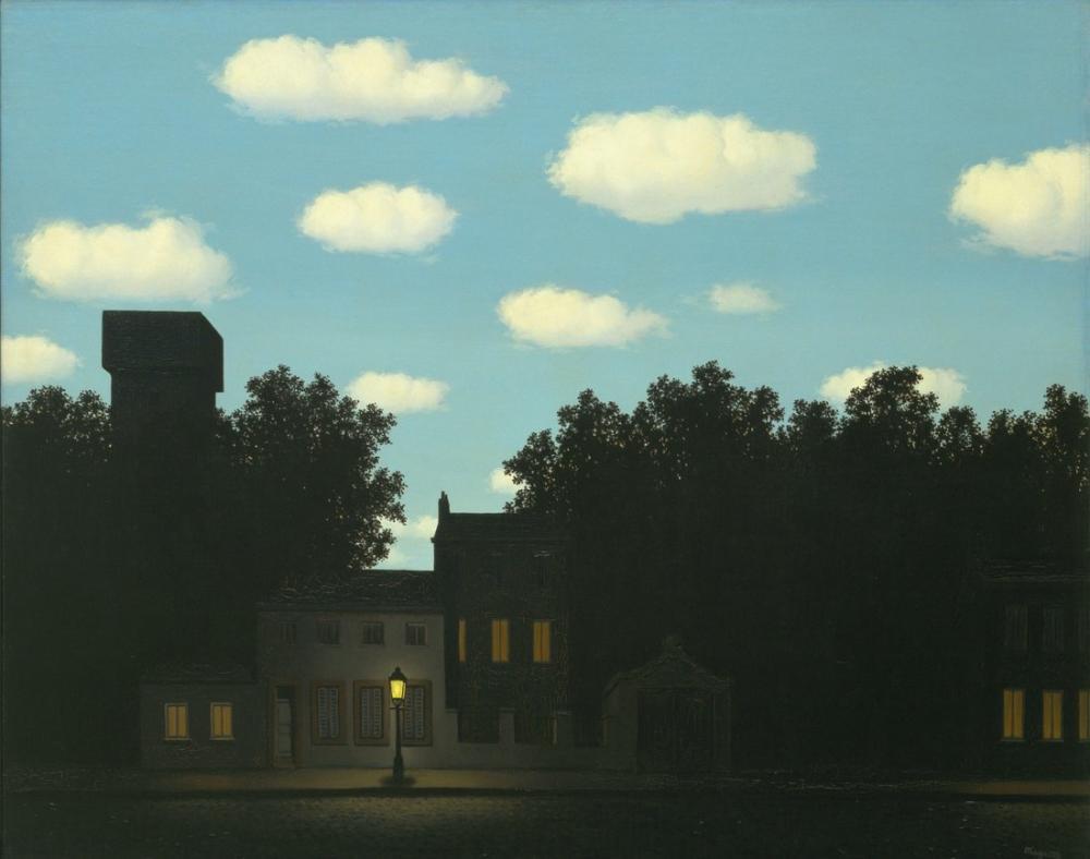Rene Magritte Işık İmparatorluğu II, Kanvas Tablo, René Magritte, kanvas tablo, canvas print sales