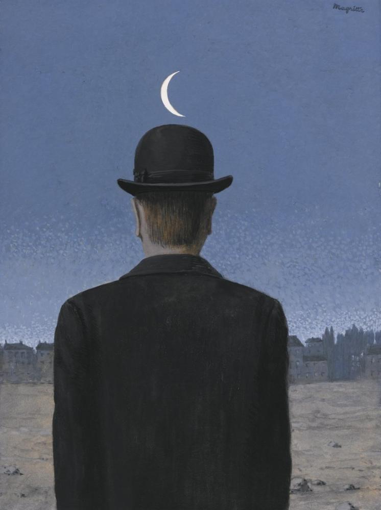 René Magritte Okul Öğretmeni, Kanvas Tablo, René Magritte, kanvas tablo, canvas print sales