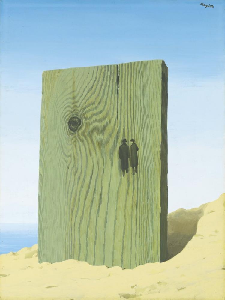 Rene Magritte Ufuk, Kanvas Tablo, René Magritte, kanvas tablo, canvas print sales
