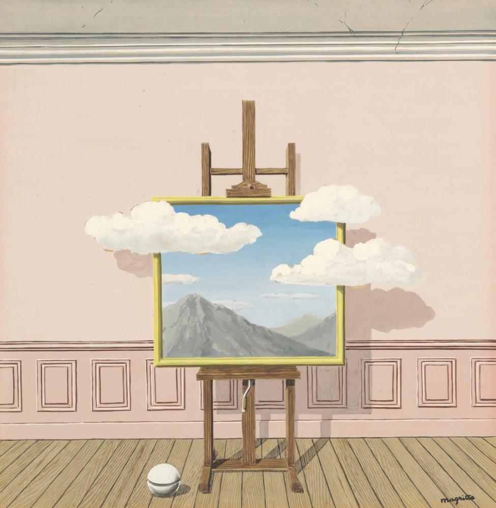 Rene Magritte İntikam, Kanvas Tablo, René Magritte, kanvas tablo, canvas print sales