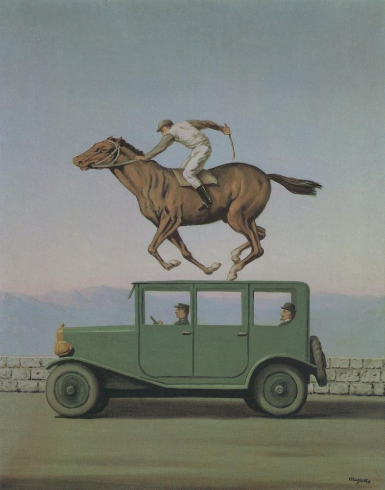 Rene Magritte Schirn Tanrıların Öfkesi, Kanvas Tablo, René Magritte, kanvas tablo, canvas print sales