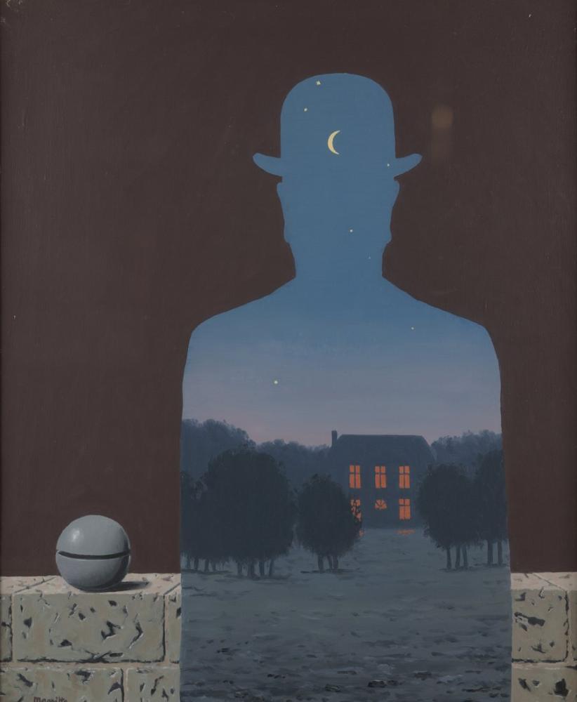 Rene Magritte Mutlu Bağışçı, Kanvas Tablo, René Magritte, kanvas tablo, canvas print sales