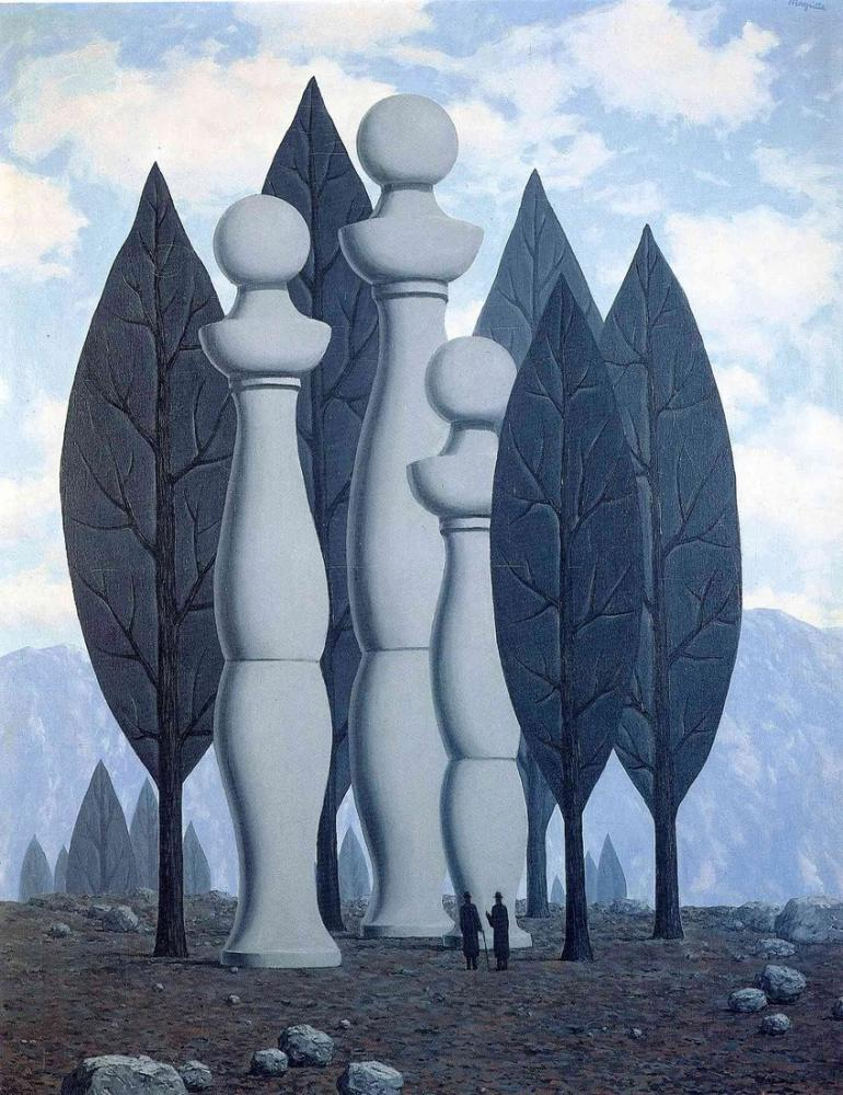 Rene Magritte Konuşma Sanatı, Kanvas Tablo, René Magritte, kanvas tablo, canvas print sales