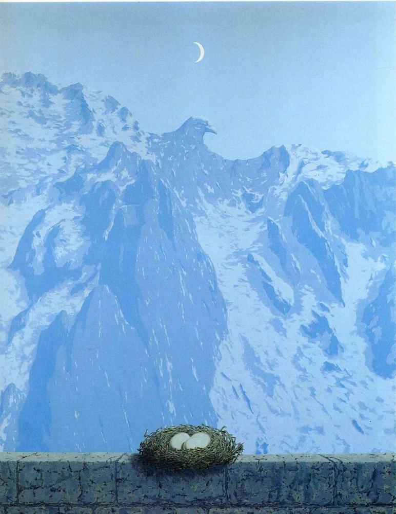 Rene Magritte Arnheim Etki Alanı, Kanvas Tablo, René Magritte, kanvas tablo, canvas print sales