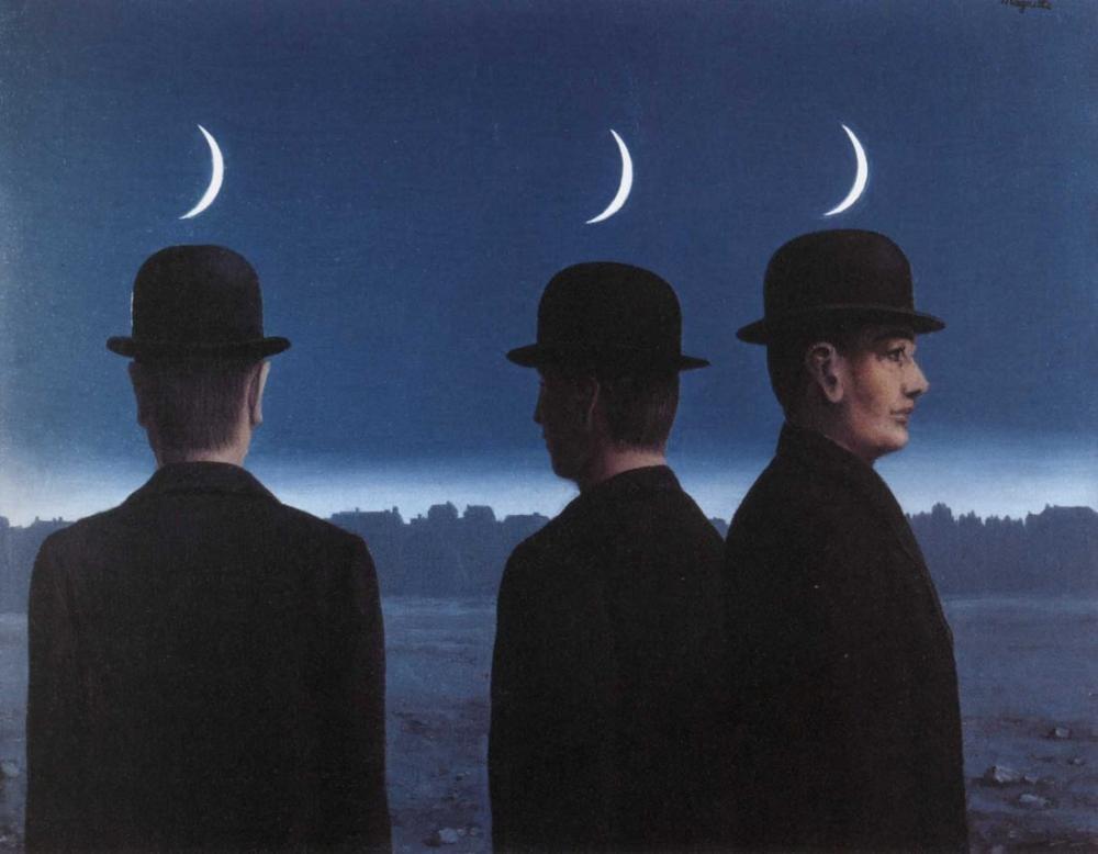 Rene Magritte Ufukta Şaheser Veya Gizemler, Kanvas Tablo, René Magritte, kanvas tablo, canvas print sales