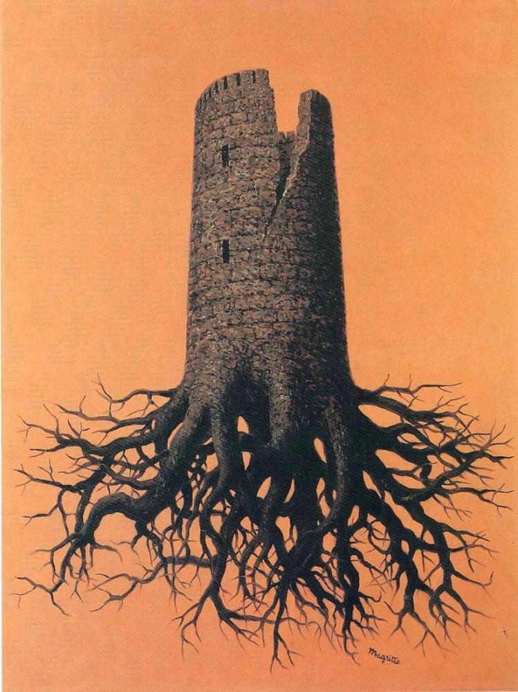 Rene Magritte Almayers Çılgınca, Kanvas Tablo, René Magritte, kanvas tablo, canvas print sales