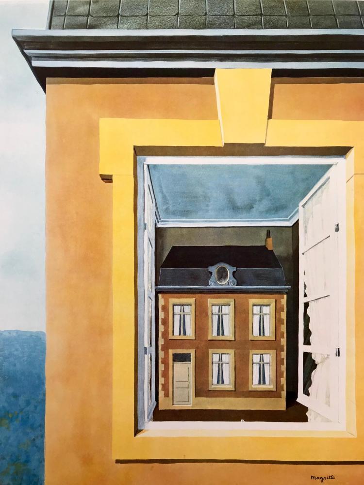 Rene Magritte Diyalektiğin Övgüsü, Kanvas Tablo, René Magritte, kanvas tablo, canvas print sales