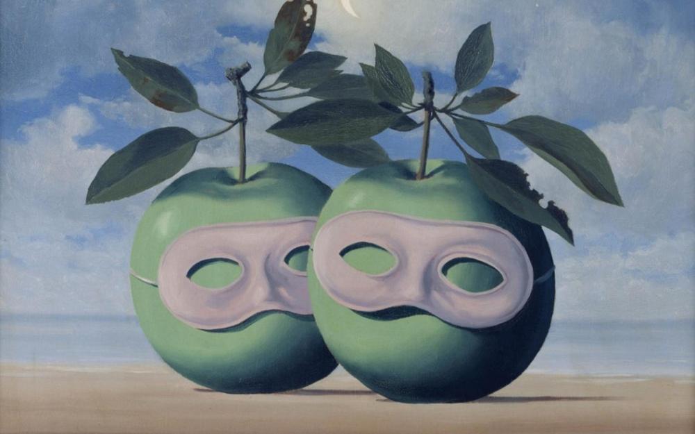 Rene Magritte Göründüğünüz Gibi Olun, Kanvas Tablo, René Magritte, kanvas tablo, canvas print sales