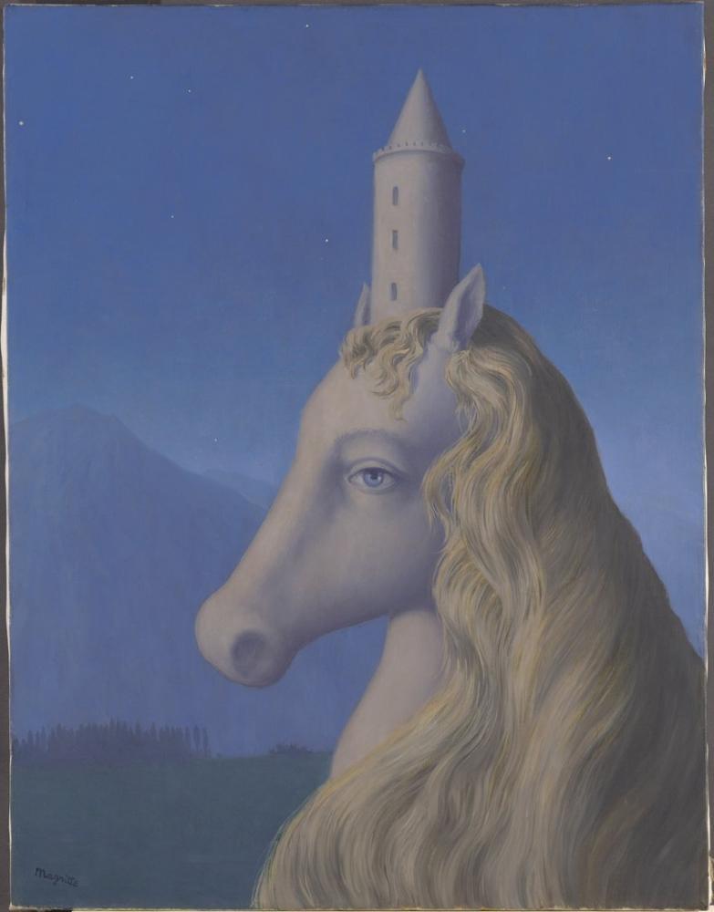 René Magritte Dünyanın Kalbi, Kanvas Tablo, René Magritte, kanvas tablo, canvas print sales