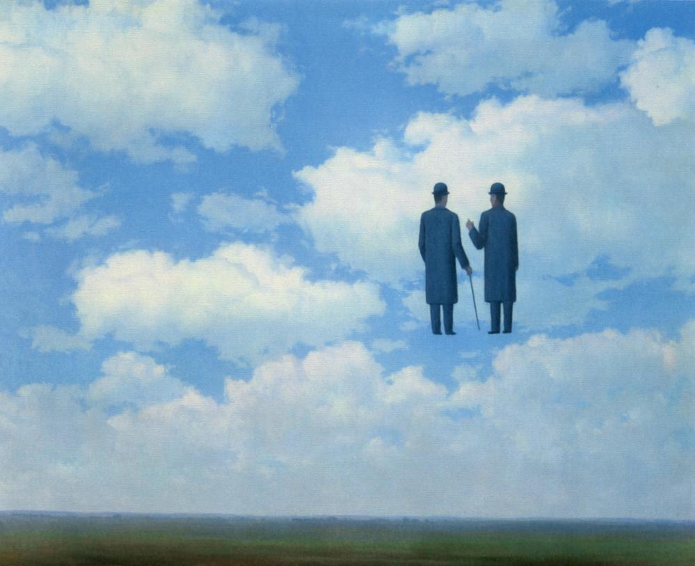 René Magritte İdealist Gerçeklik Görüşü, Kanvas Tablo, René Magritte, kanvas tablo, canvas print sales