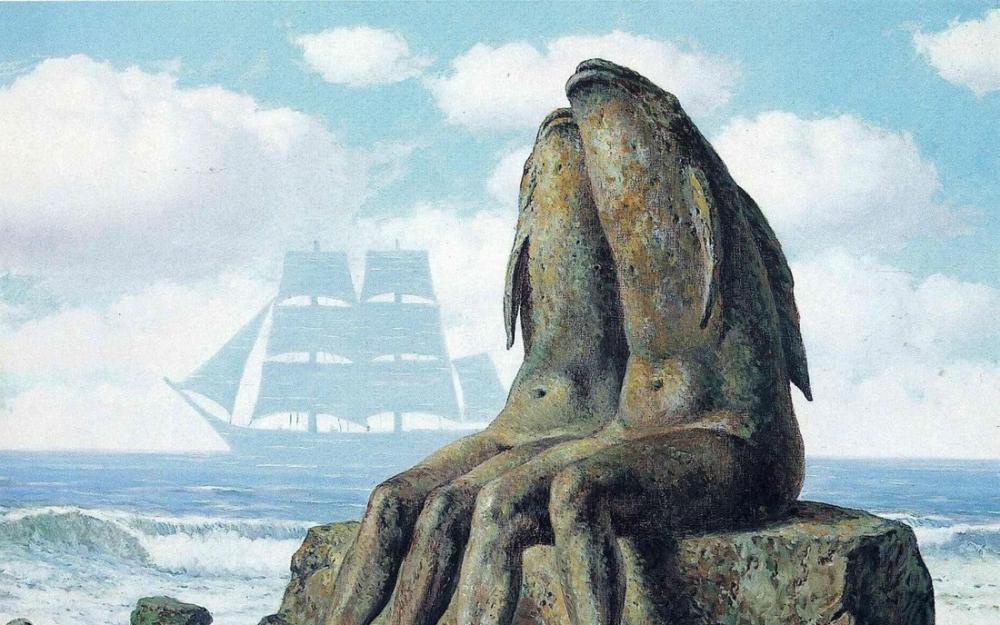 René Magritte Doğa Harikası, Kanvas Tablo, René Magritte, kanvas tablo, canvas print sales