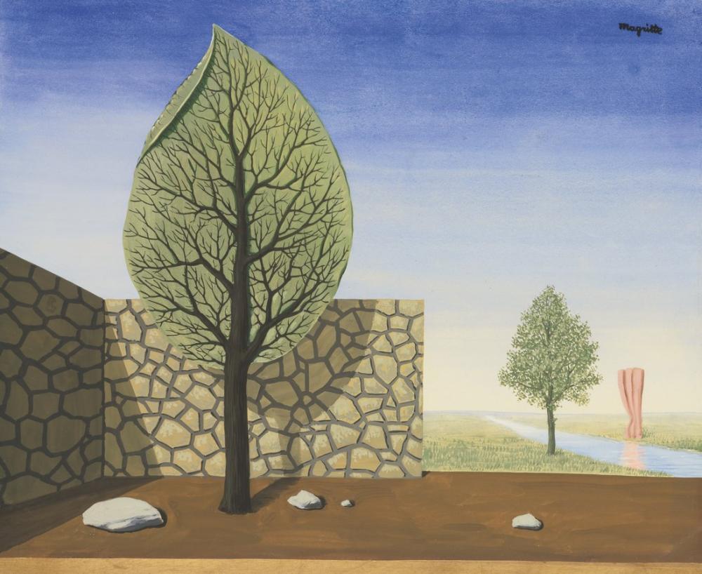 René Magritte Dev, Kanvas Tablo, René Magritte, kanvas tablo, canvas print sales
