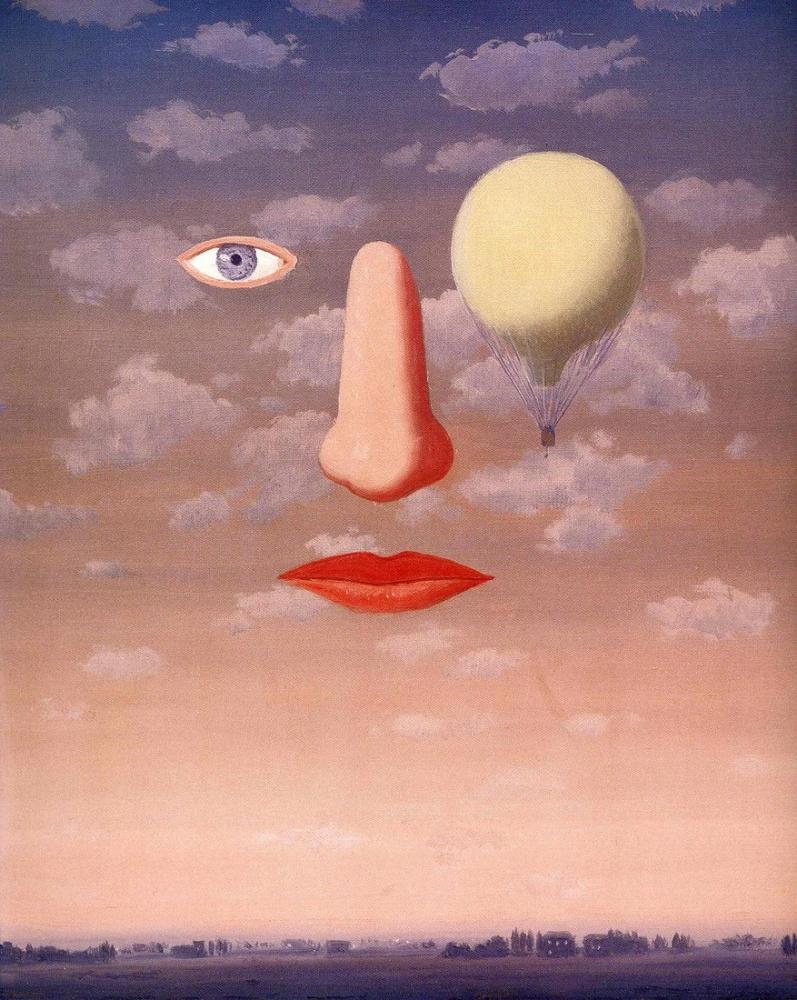 René Magritte Güzel İlişkiler, Kanvas Tablo, René Magritte, kanvas tablo, canvas print sales