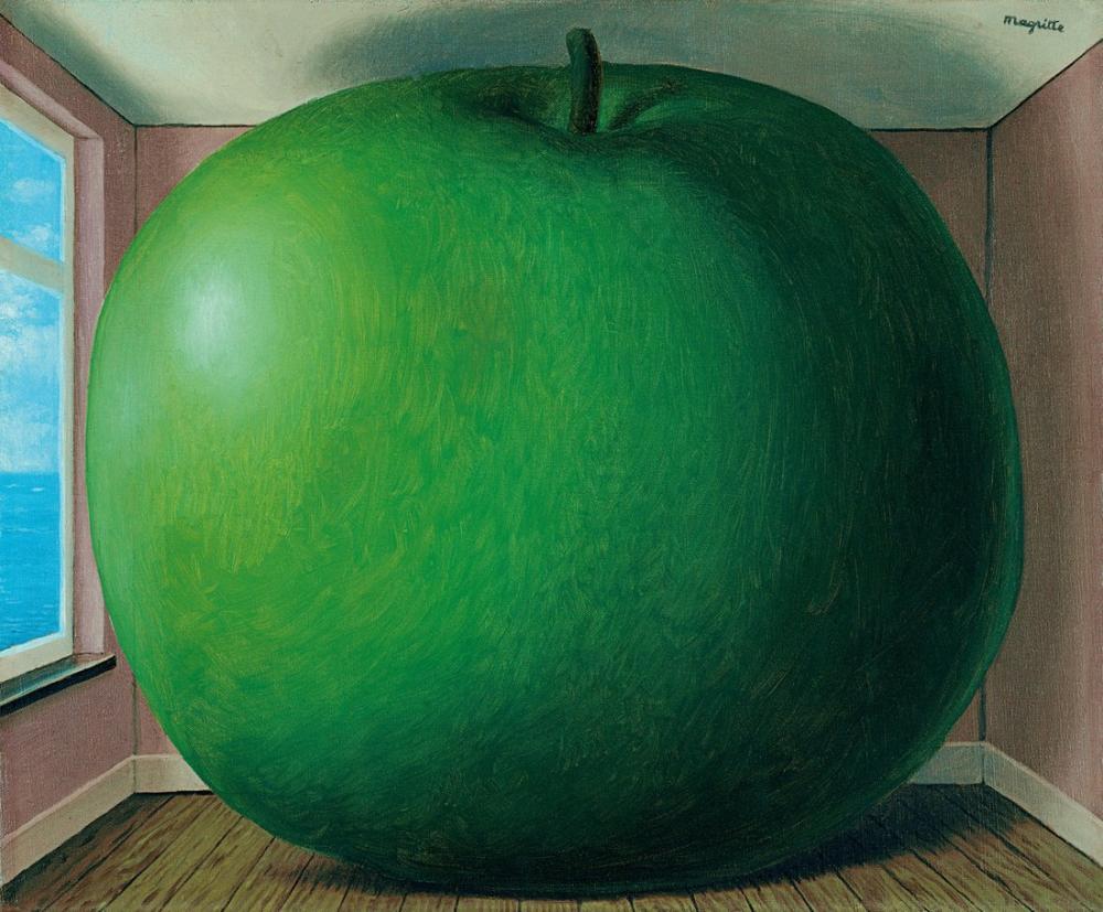 Rene Magritte Ev Dekorasyonu, Kanvas Tablo, René Magritte, kanvas tablo, canvas print sales