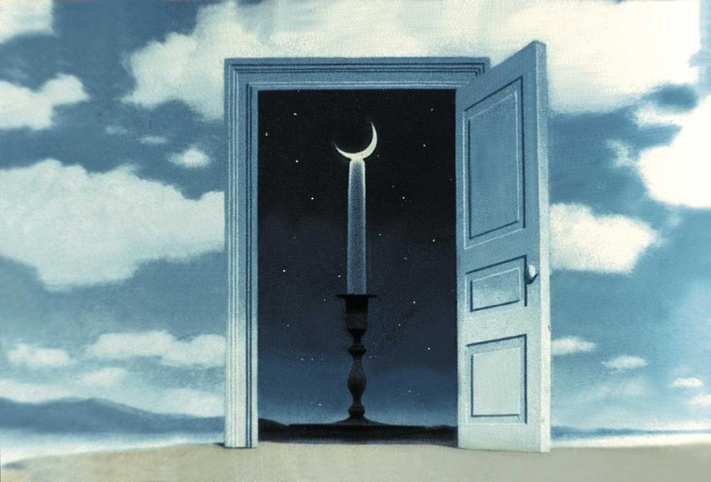 Rene Magritte Büyülü Alan, Kanvas Tablo, René Magritte, kanvas tablo, canvas print sales