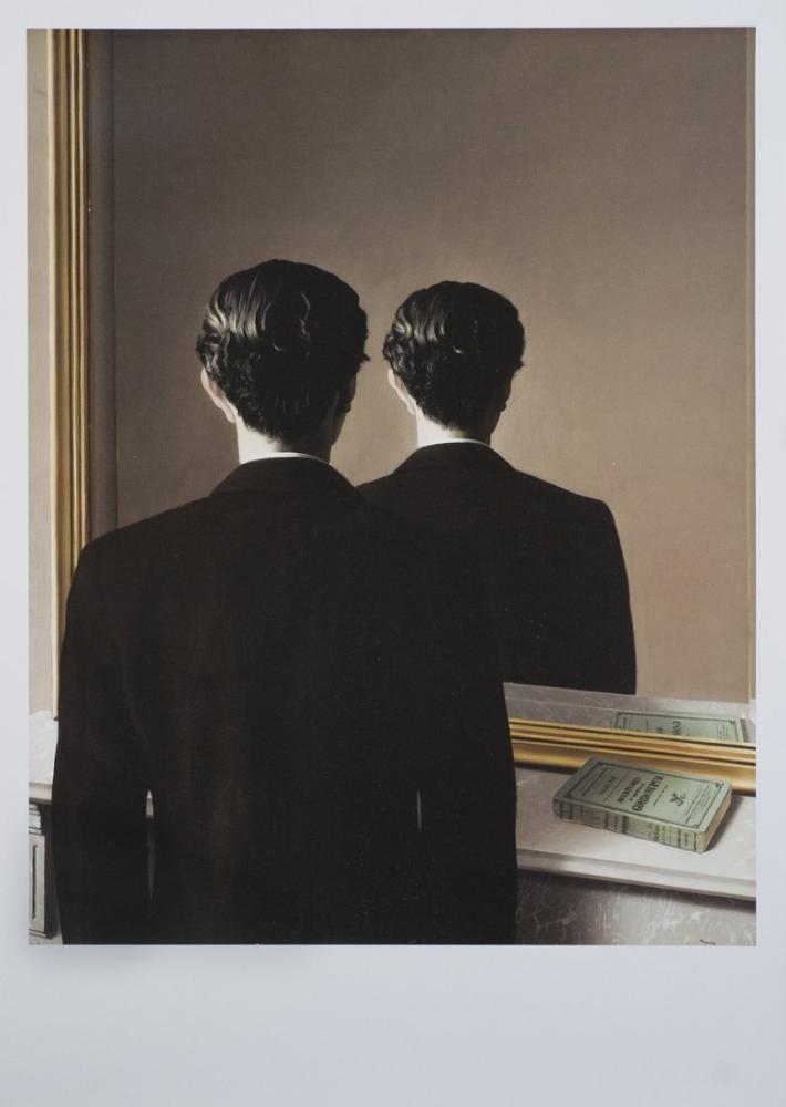 Rene Magritte Yasaklı Üreme, Kanvas Tablo, René Magritte, kanvas tablo, canvas print sales