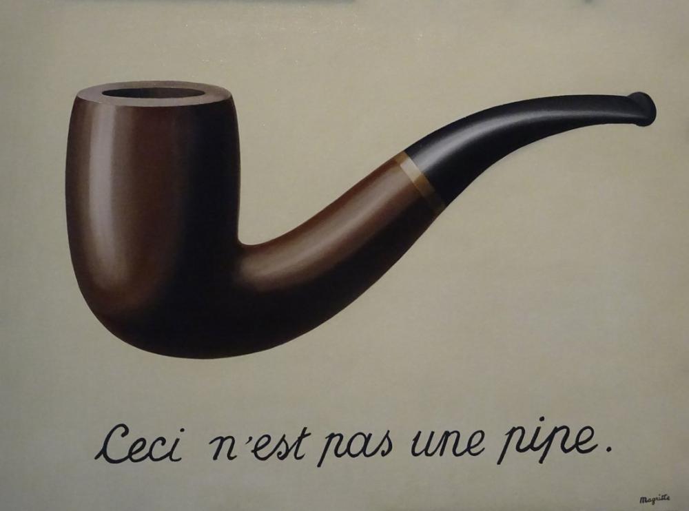 Rene Magritte Bu Bir Pipo Değildir, Kanvas Tablo, René Magritte, kanvas tablo, canvas print sales