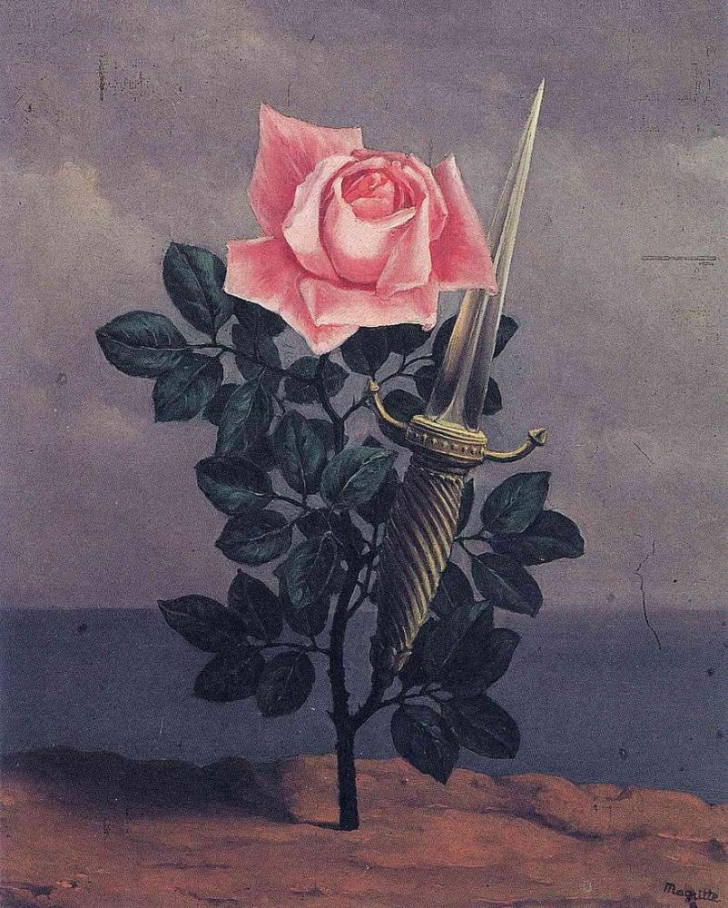 Rene Magritte Kalbe Darbe, Kanvas Tablo, René Magritte, kanvas tablo, canvas print sales