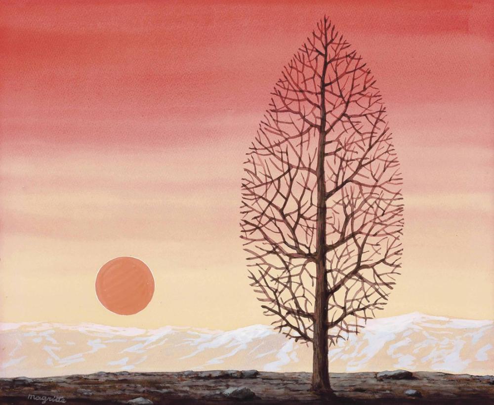 Rene Magritte Mutlak Arayışı, Kanvas Tablo, René Magritte, kanvas tablo, canvas print sales