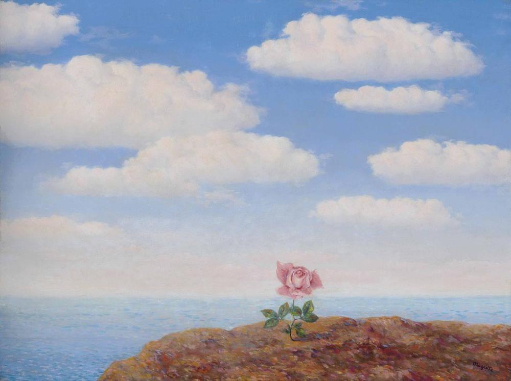 Rene Magritte Ütopya, Kanvas Tablo, René Magritte, kanvas tablo, canvas print sales