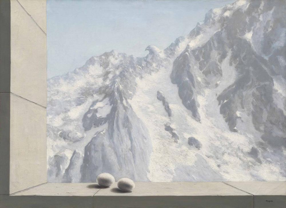 Rene Magritte Darnheim Bölgesi, Kanvas Tablo, René Magritte, kanvas tablo, canvas print sales