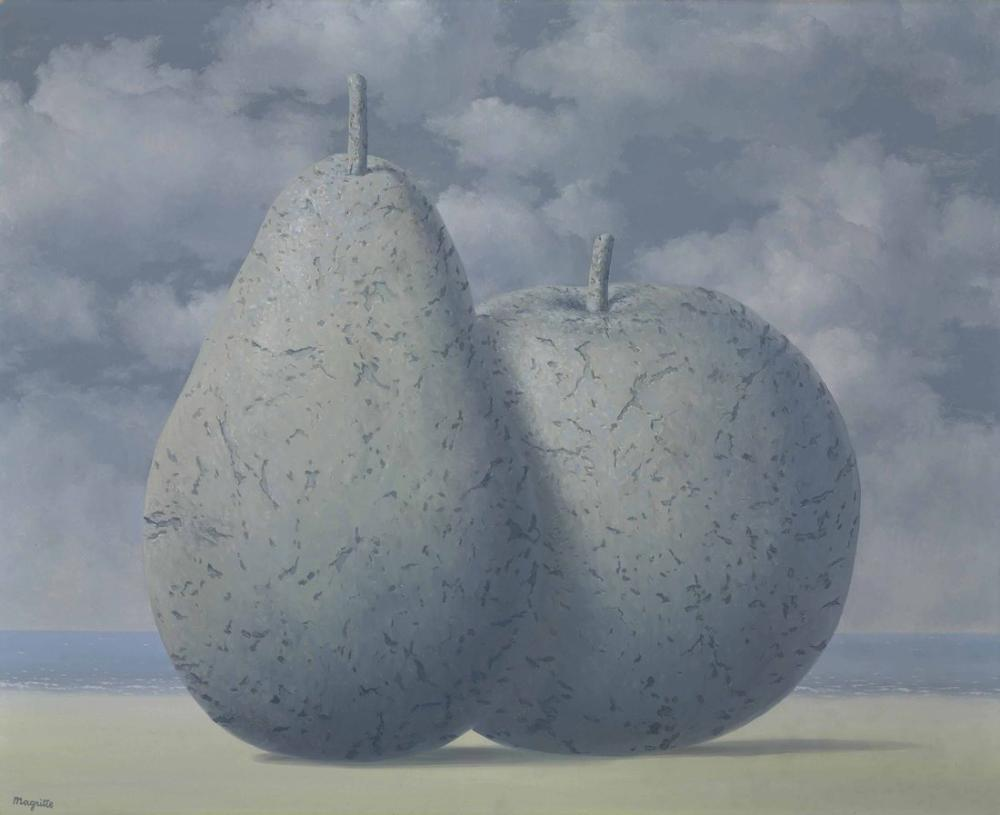 Rene Magritte Seyahat Hatıra Eşyası, Kanvas Tablo, René Magritte, kanvas tablo, canvas print sales