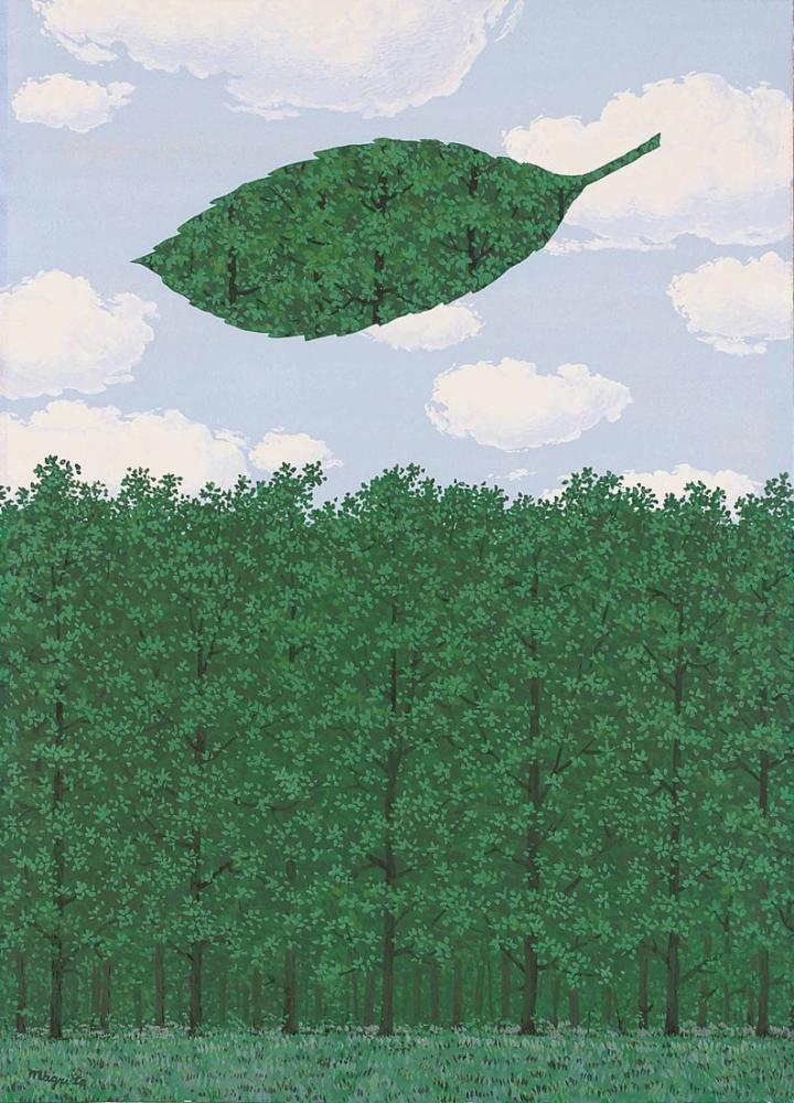 Rene Magritte Süngerlerin Korosu, Kanvas Tablo, René Magritte, kanvas tablo, canvas print sales