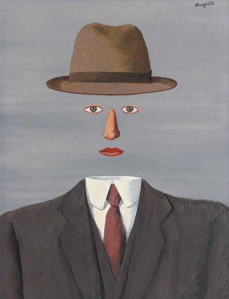 Rene Magritte Baucis Peyzajı, Kanvas Tablo, René Magritte, kanvas tablo, canvas print sales