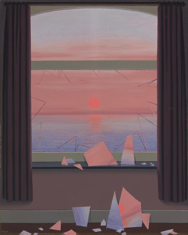 Rene Magritte Resimlerin Dünyası, Kanvas Tablo, René Magritte, kanvas tablo, canvas print sales