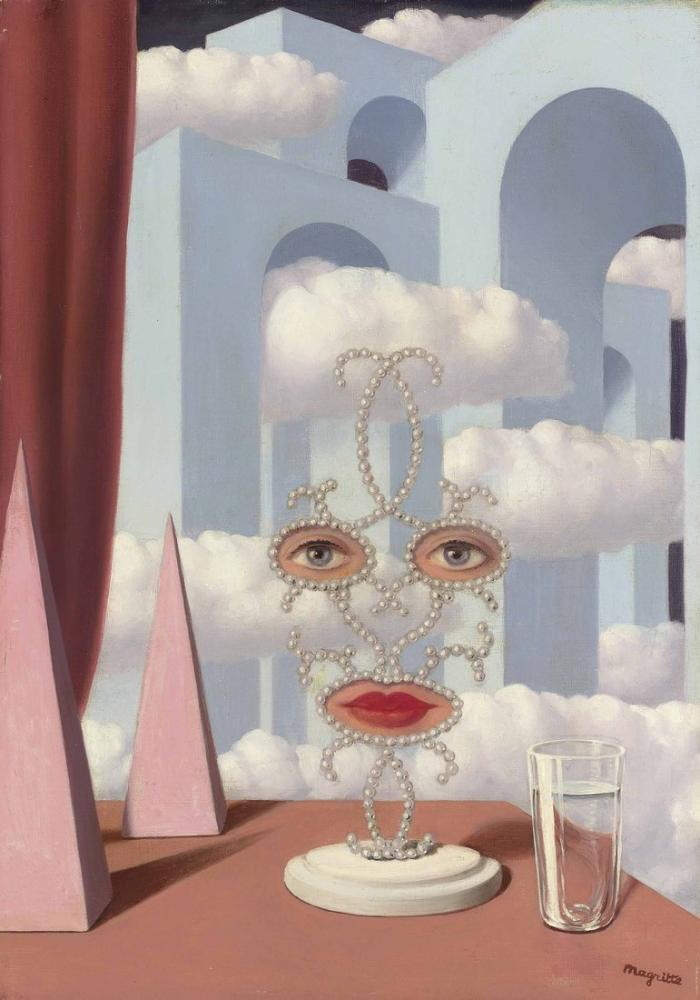 Rene Magritte Sheherazade, Kanvas Tablo, René Magritte, kanvas tablo, canvas print sales