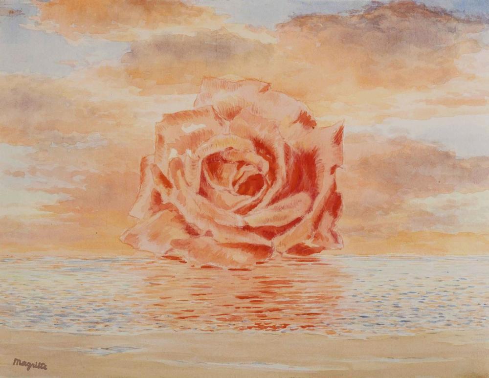 Rene Magritte Seyahat Davetiyesi, Kanvas Tablo, René Magritte, kanvas tablo, canvas print sales
