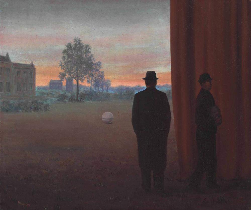 Rene Magritte Zevk Buluşması, Kanvas Tablo, René Magritte, kanvas tablo, canvas print sales