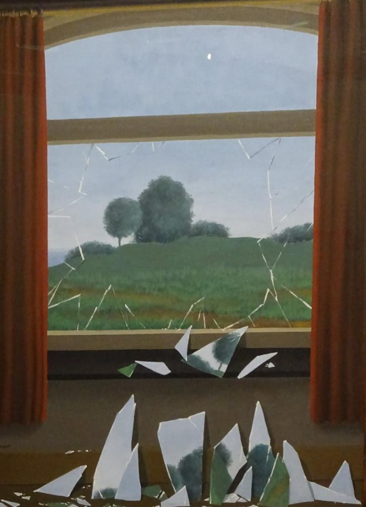 Rene Magritte Alanların Anahtarı, Kanvas Tablo, René Magritte, kanvas tablo, canvas print sales