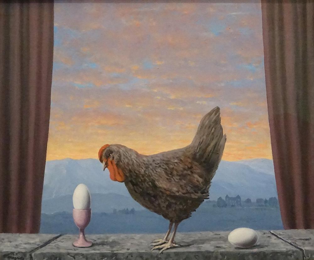 René Magritte Hüzün, Kanvas Tablo, René Magritte, kanvas tablo, canvas print sales