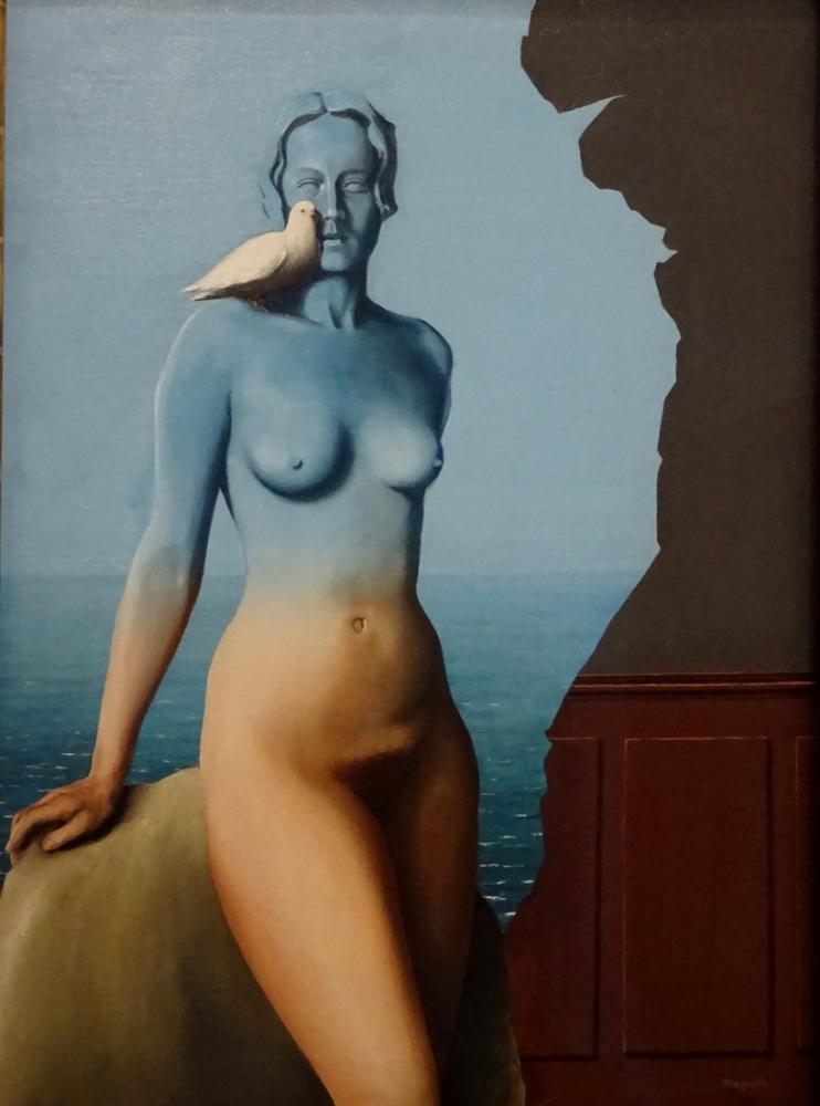 René Magritte Kara Büyü, Kanvas Tablo, René Magritte, kanvas tablo, canvas print sales